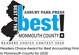 Asbury Park Press Readers Choice Award 2020